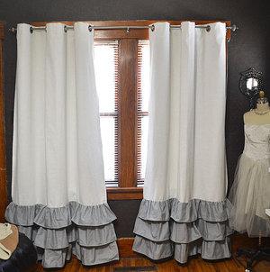 Способы удлинить шторы