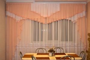 Как пошить вуальные шторы