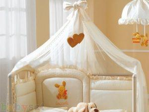 Балдахин на детскую кроватку для новорожденных своими руками