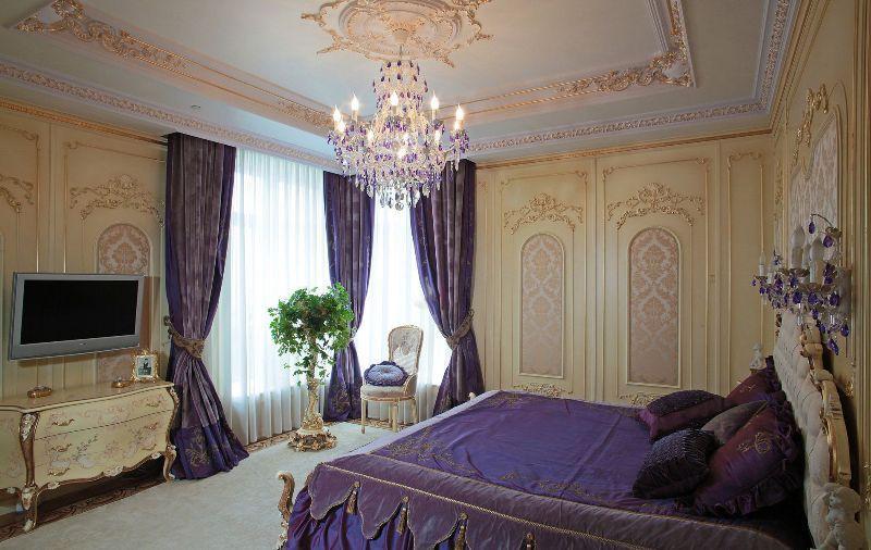 Шторы в спальню: самое стильное оформление