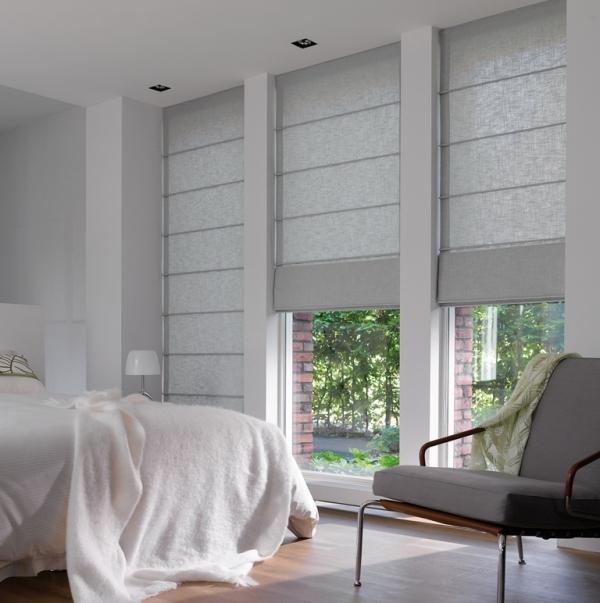 Красивые шторы и гардины для спальни