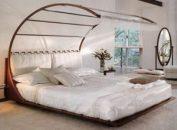 Кровать с балдахином: делаем своими руками