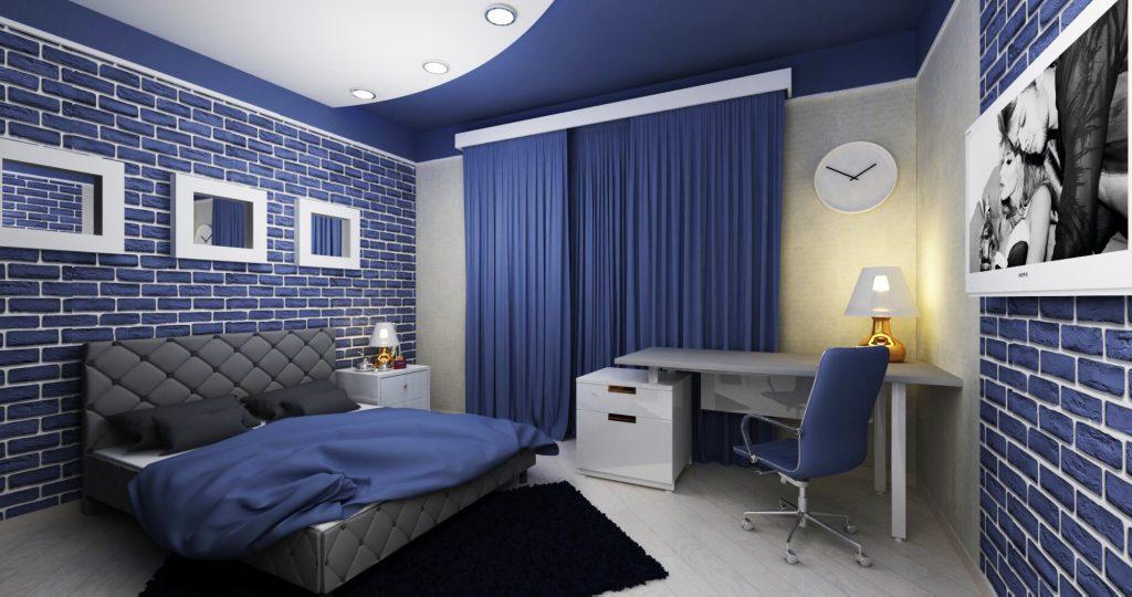 Дизайн комнаты мальчика-подростка