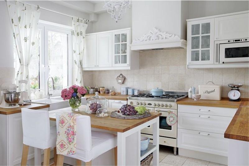 интерьер кухни в стиле прованс интересные идеи дизайна для дома