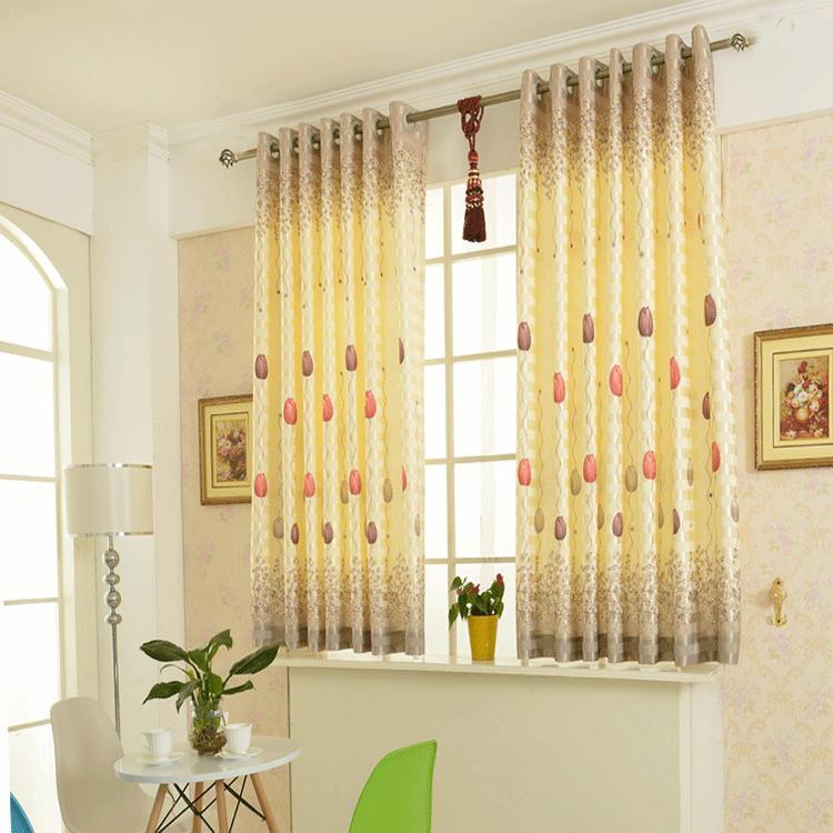 Короткие шторы для детской, гостиной и спальни
