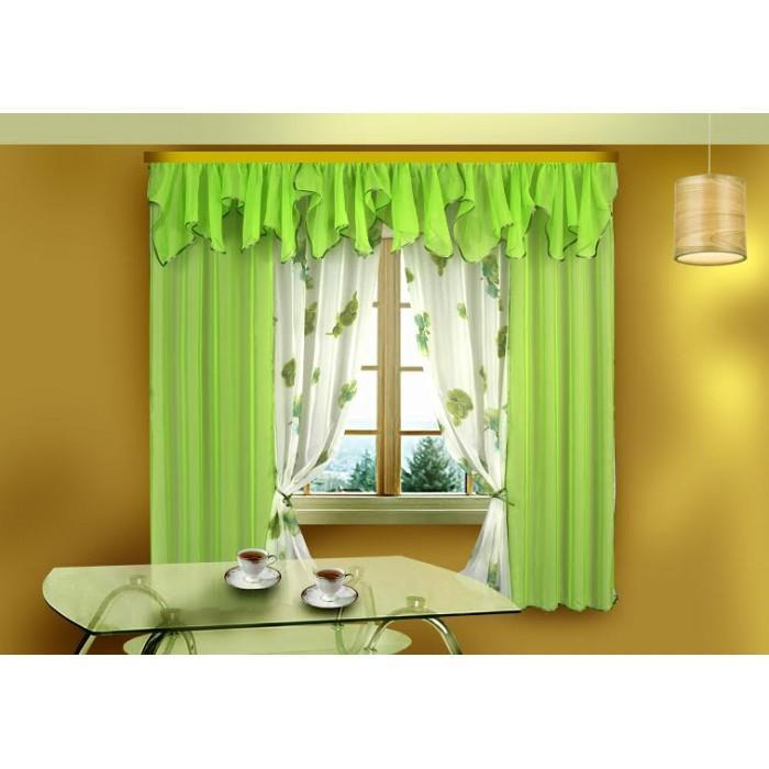 выбор красивых штор на кухню особенности оформления окон