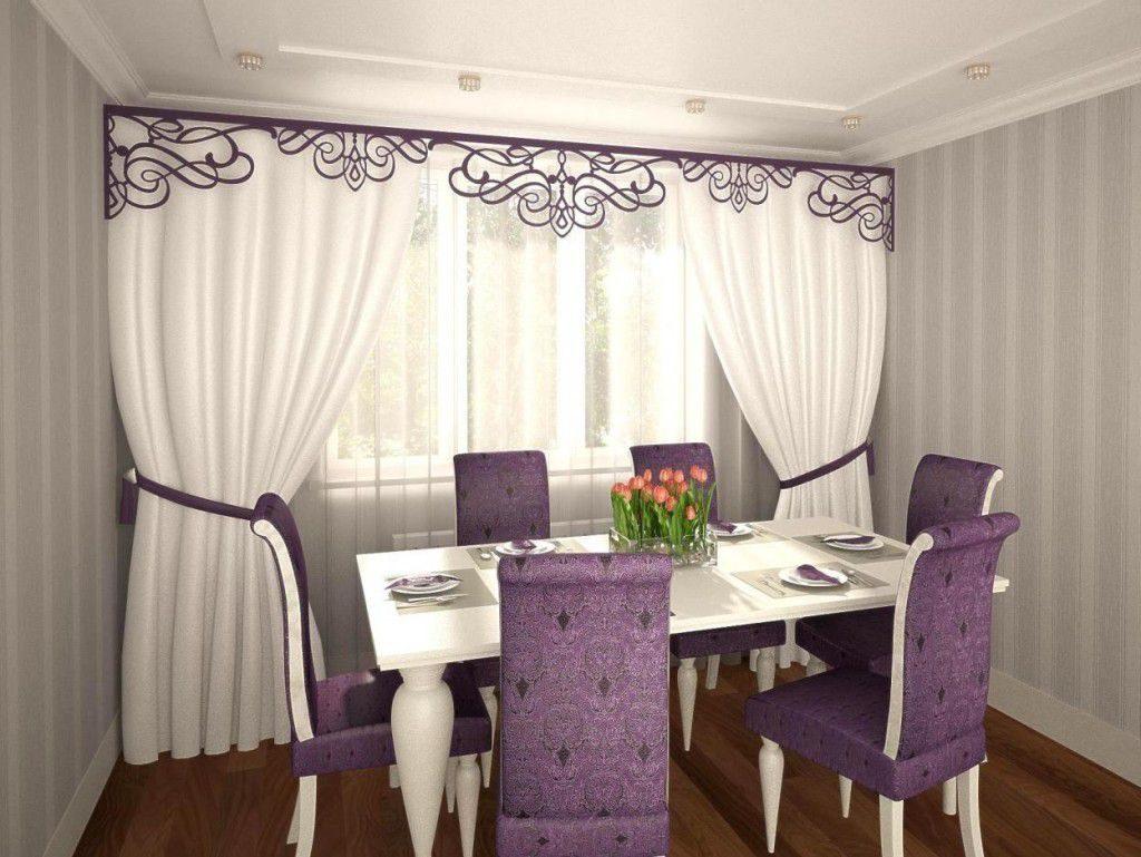 Красивый тюль для современной гостиной: нюансы выбора