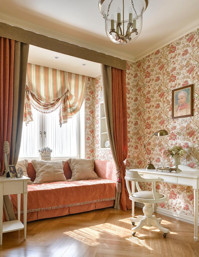 Шторы классического стиля для интерьера жилых помещений