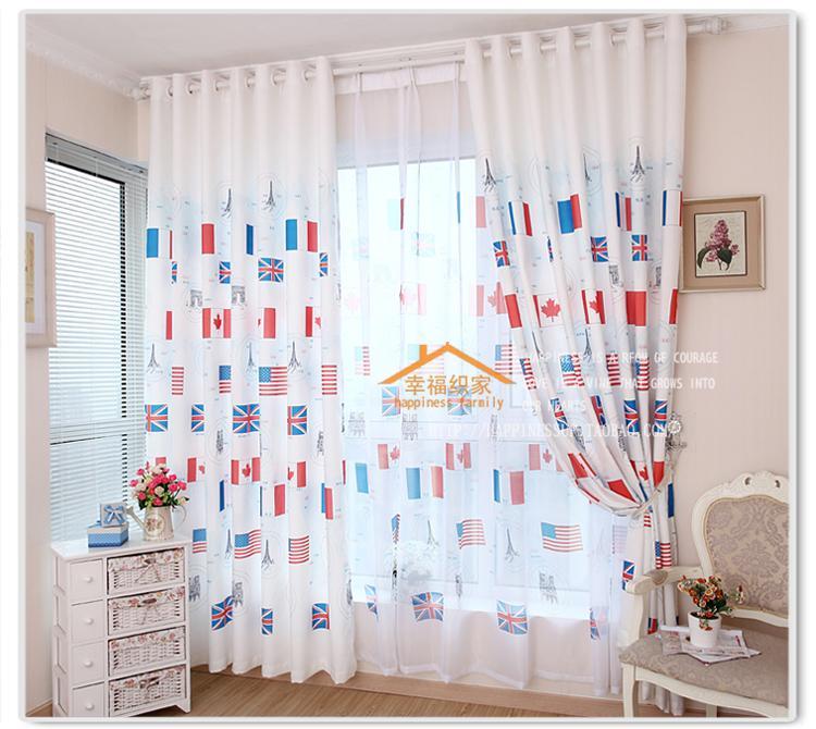 Тюль в детскую комнату для мальчика и девочки