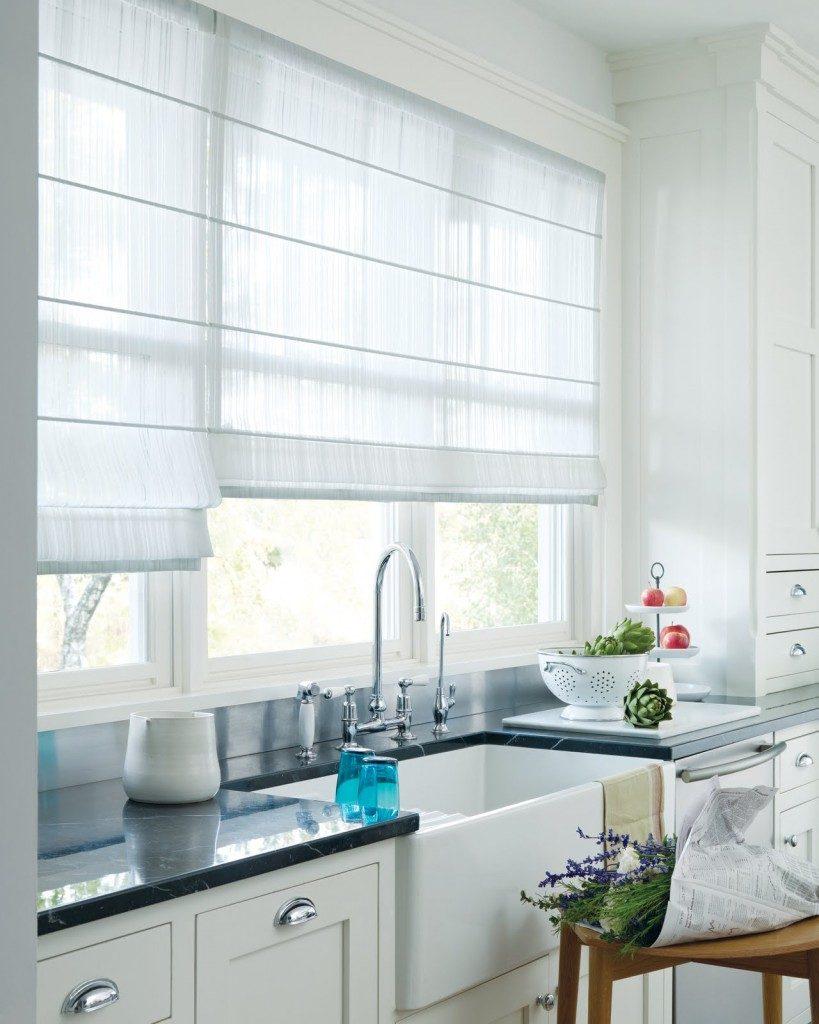 Жалюзи как современная и стильная защита кухни от солнечных лучей