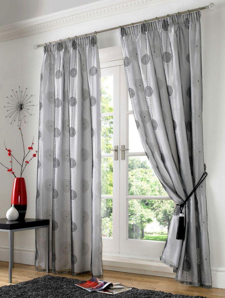 Как правильно подобрать серые шторы в интерьере