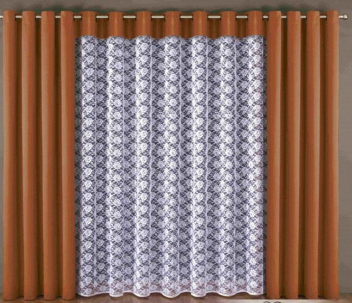 Красивые шторы и тюли на люверсах