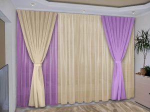 Как сшить шторы из вуали для кухни, детской или гостиной своими руками
