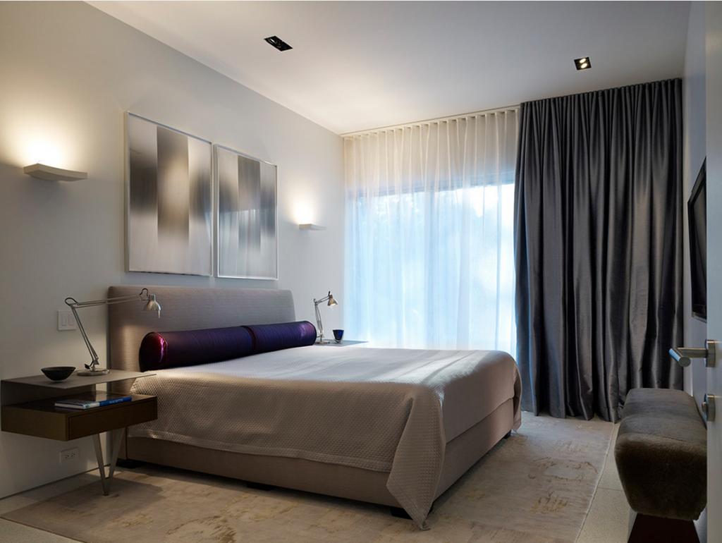 Портьеры для спальни: как выбрать или сшить своими руками
