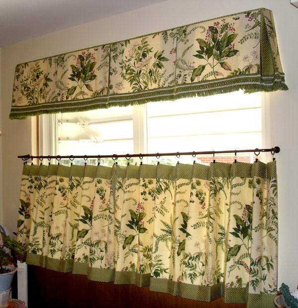 Шторы для дачи, занавески в деревенском стиле